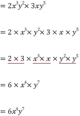나부랭이의 수학블로그 :: 식의 곱셈하는 법