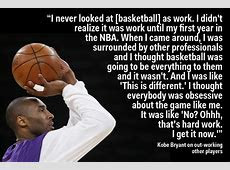 Kobe Bryant explains when he first realised he was