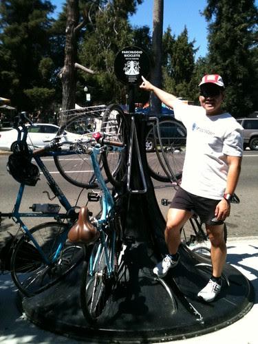 Downtown Sacramento bike racks