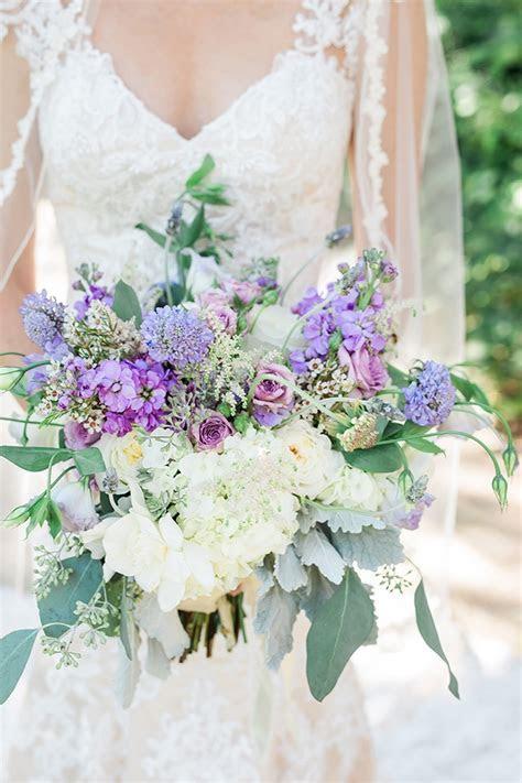 Purple Texas Garden Wedding   Glamour & Grace