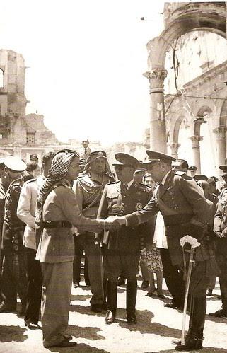 Hussein de Jordania en Toledo, 1955 (Fotografía Rodríguez)