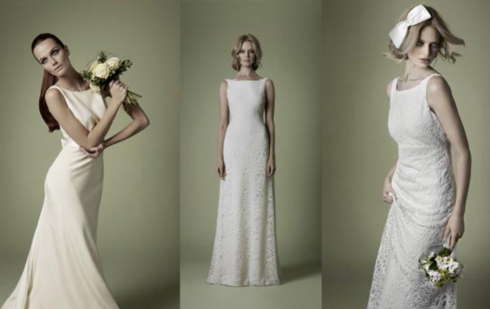 vestido de novia 1960