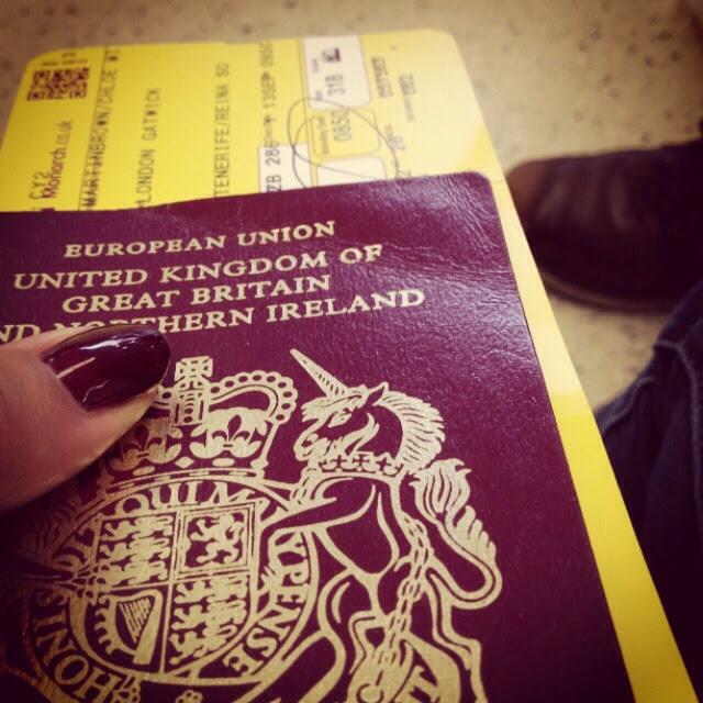 Shellac matching passport