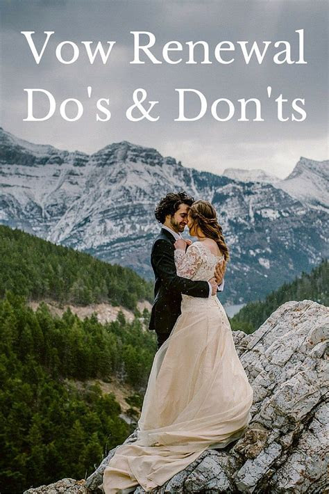 Vow Renewal Etiquette   Vow renewal   Wedding renewal vows