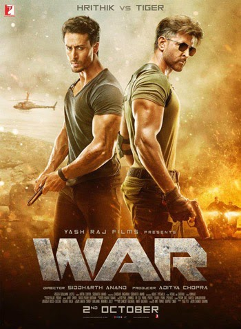 War 2019 Hindi Movie PreDVD 720p 1GB