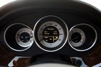 2012 Mercedes-Benz CLS550 gauges