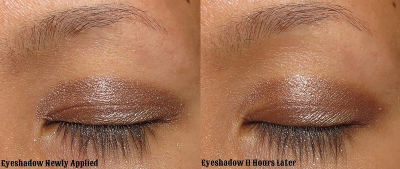 Milani Eyeshadow Primer 11 hours later