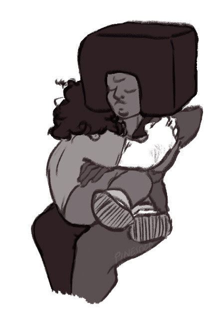 Steven IS stressed. Let him cry more.