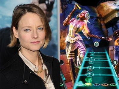 "Jodie Foster – ""Guitar Hero"""