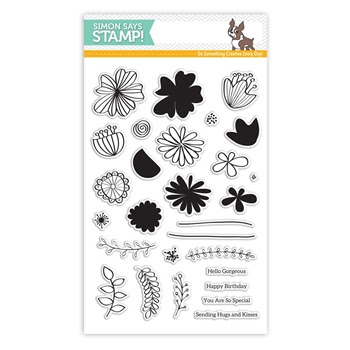Simon Says Clear Stamps WILD BEAUTY SSS101625 My Favorite