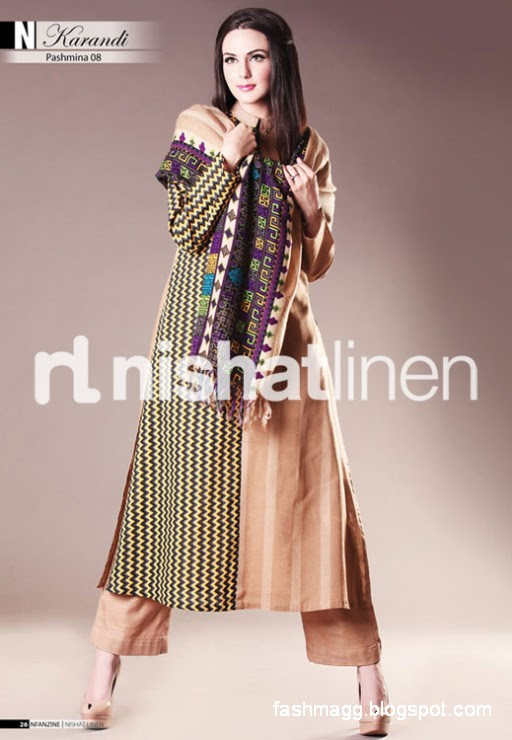 Nishat-Linen-Winter-Dresses-Collection-2013-Nishat-Linen-Fancy-Frocks-Shalwar-Kamiz-9