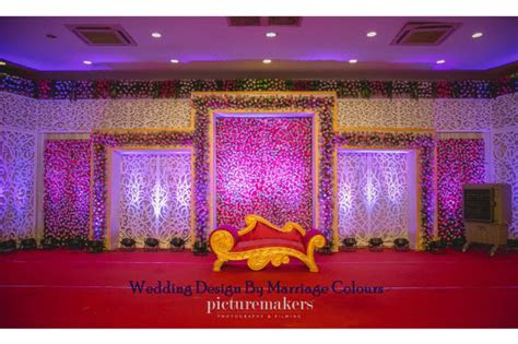 chic backdrop  wedding reception decorations