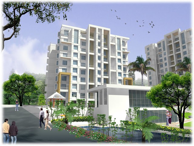 Nirman Viva Phase 2, 1 BHK & 2 BHK Flats at Ambegaon Budruk, Katraj, Pune 411 046 - Club House and D Building