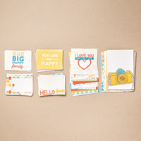 Happy Times Project Life Card Collection  by Stampin' Up!