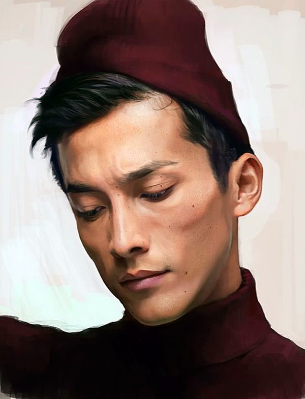 Spectacular Digital Painting Portraits (17)