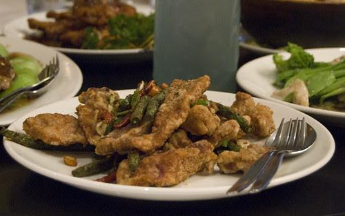 Hunan spare pork ribs