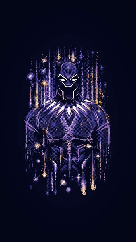 black panther wakanda artwork iphone wallpaper iphone