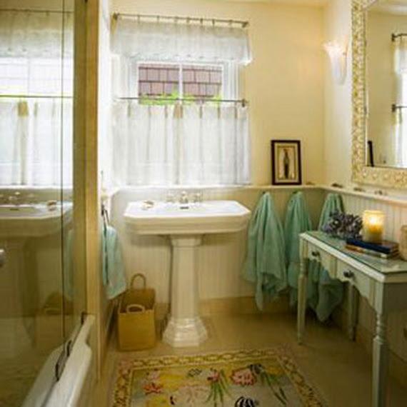 Modern Bathroom Window Curtain Ideas - for life and style
