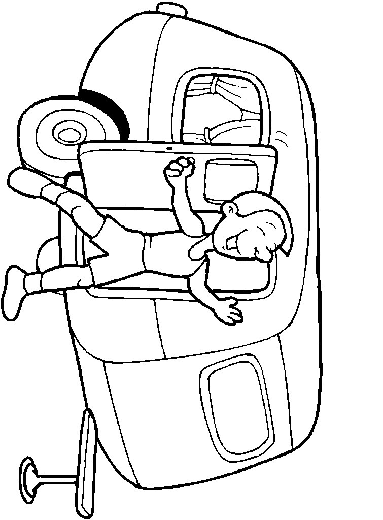 Kids-n-fun.com | 31 coloring pages of Summer vacation