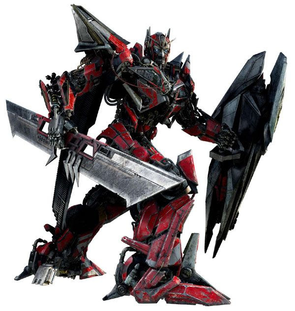 Concept artwork of Sentinel Prime...the Autobot newcomer in TRANSFORMERS: DARK OF THE MOON.