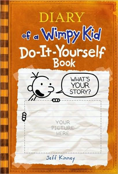 Diary of a Wimpy Kid Do-It-Yourself Book by Jeff Kinney ...