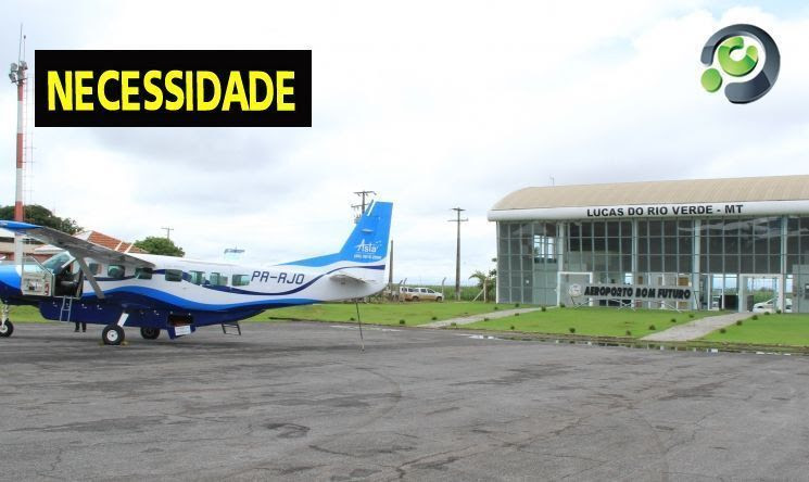 Aeroporto de Lucas do Rio Verde passará por reformas