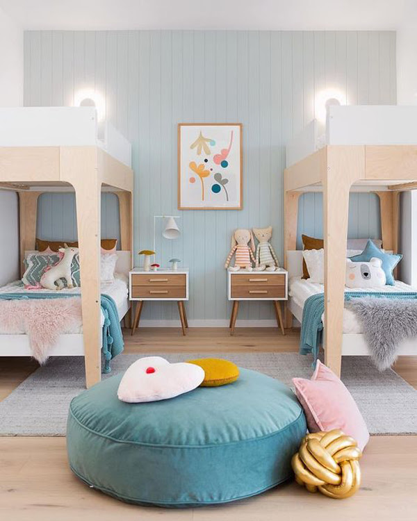 35 Fun And Cozy Shared Bedrooms For Two Kids Homemydesign