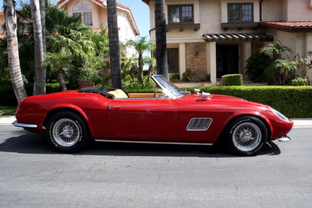 """1961 Ferrari 250 GT Modena California Spyder """"Ferris ..."""