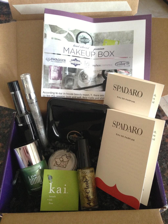 Wantable Makeup Review - January 2013 - Subscription Box ...