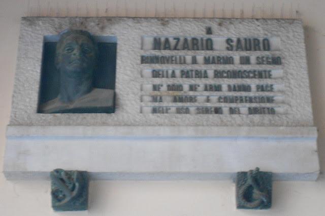 lapide a Nazario Sauro, Virgilio Milani, Rovigo