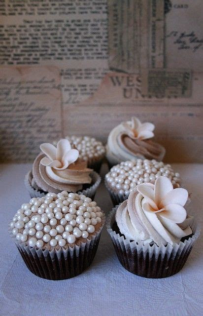 25  Best Ideas about Pearl Cupcakes on Pinterest   Pink