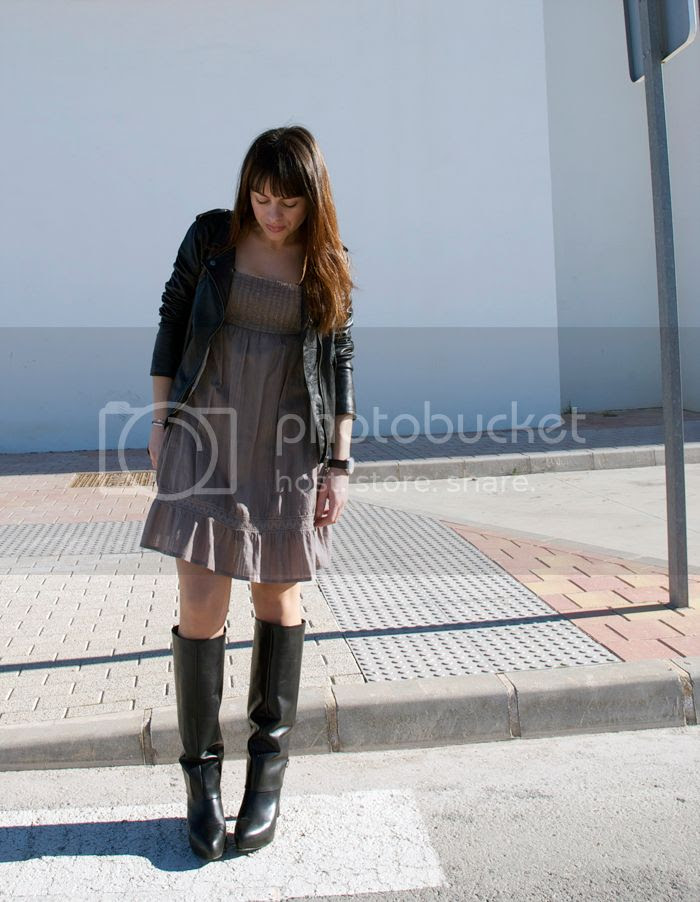 RomanticDress and GivenchyBoots