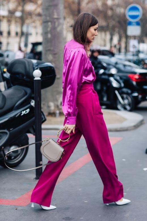 Le Fashion Blog 9 Pairs Of Hot Pink Pants That You Need This Fall Via Sandra Semburg
