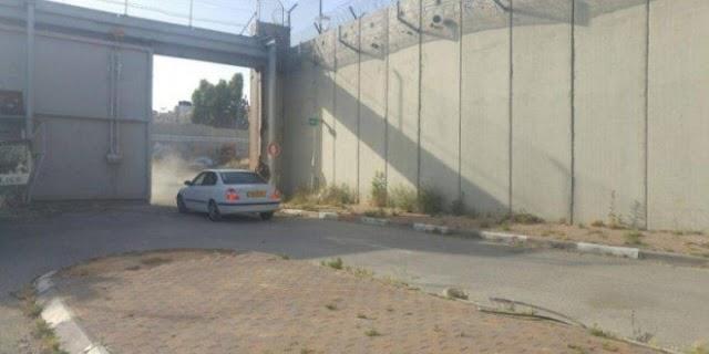 الاحتلال الاسرائيلي يتحكم في مواعيد فتح بوابة ضاحية البريد