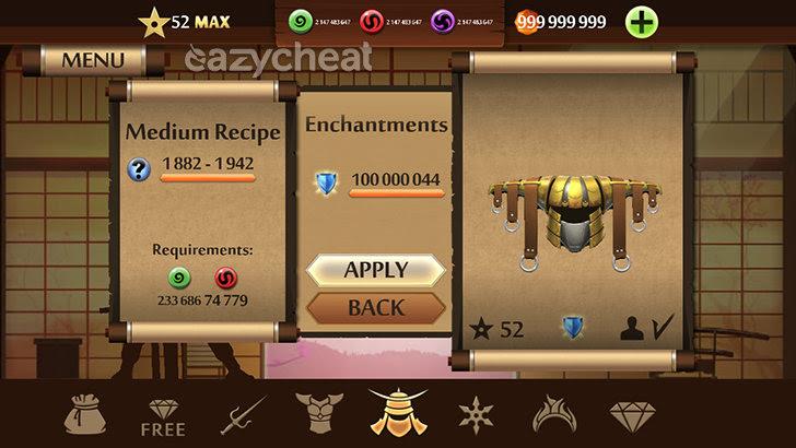 Shadow Fight 2 v1.9.18 Cheats