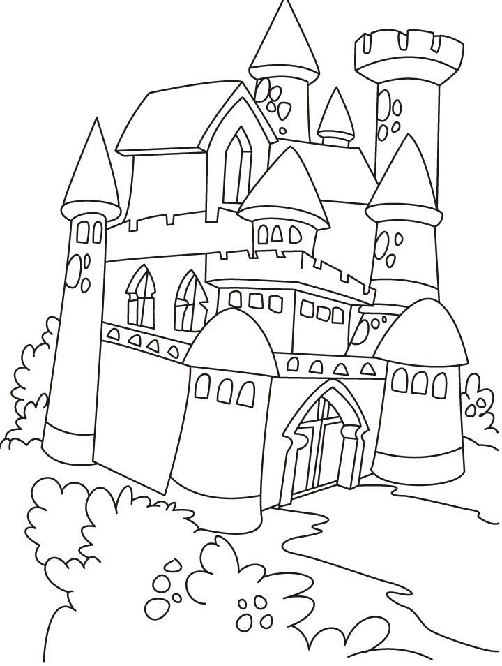 Castle Tower Drawing At Getdrawings Com Free For Personal Use