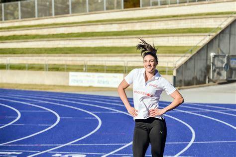 foto  biodata atlet cantik australia michelle jenneke