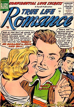Front cover of True Life Romance #3