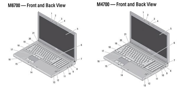 Dell M4700, 6700 manuals leak reveals