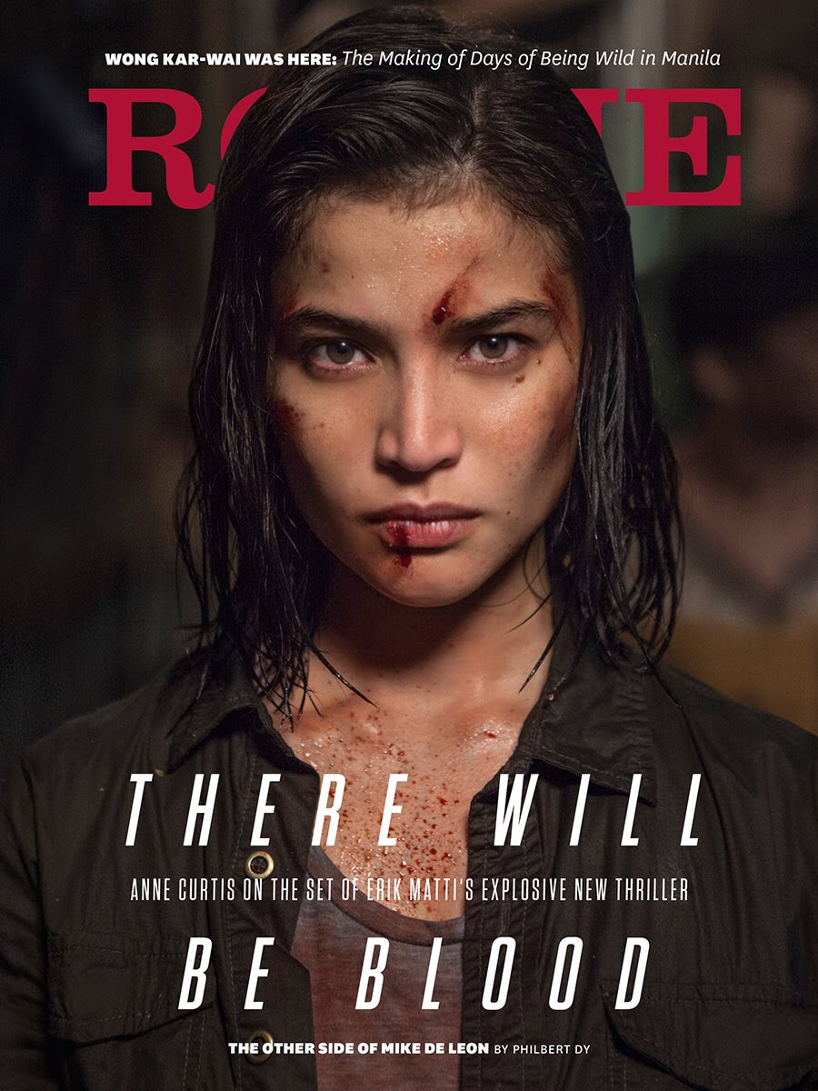 BUYBUST: Anne Curtis Gets Magazine Cover Debut For Erik Matti's New Martial Arts Thriller