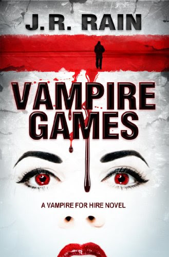 Vampire Games (Vampire for Hire #6) by J.R. Rain