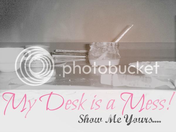 my desk is a mess header
