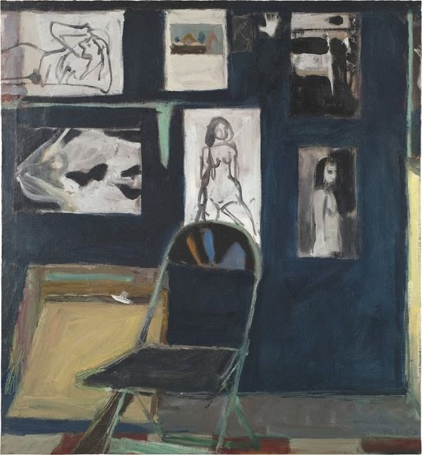 Studio Wall, 1963, by Richard Diebenkorn