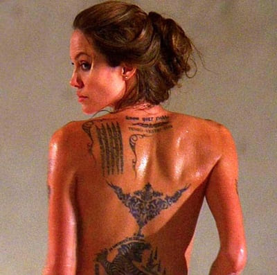 Butt Tattoos on Unreality   Ten Of The Most Badass Tattoos In Movies