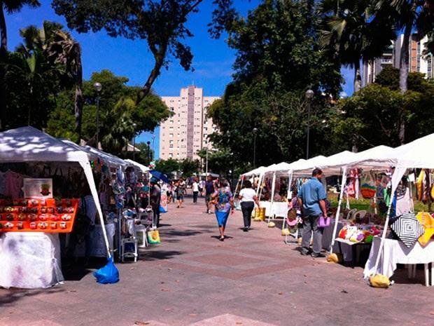 Evento na Praça do Campo Grande celebra Dia do Artesanato em Salvador (Foto: Divulgação)
