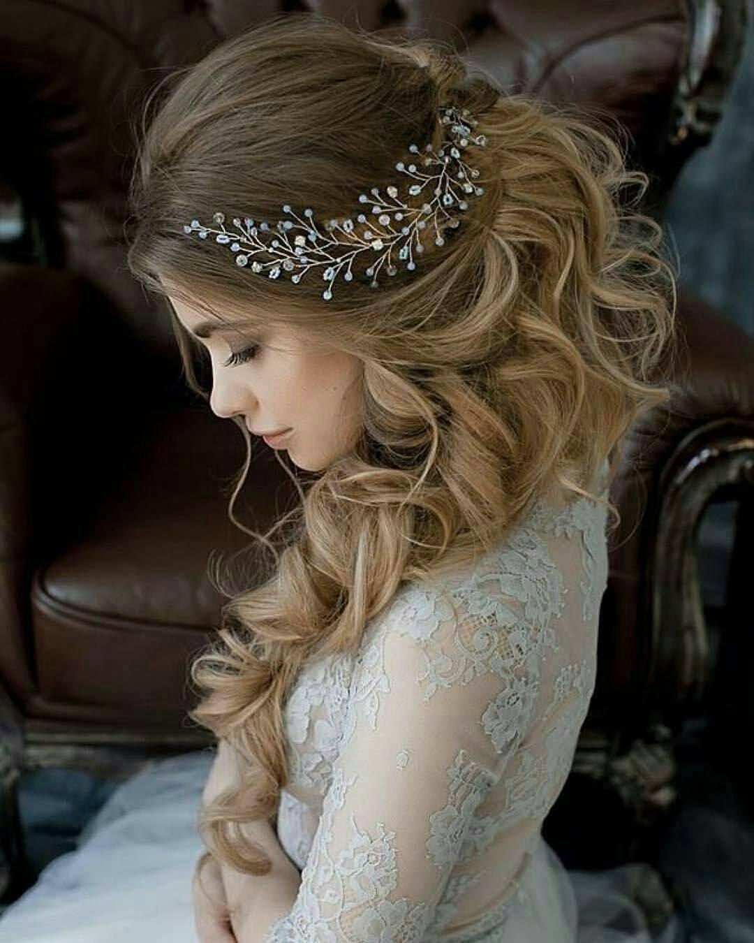 10 Lavish Wedding Hairstyles For Long Hair Wedding Hairstyle Ideas