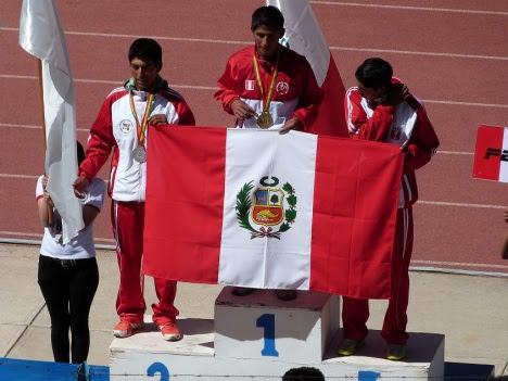 A - atletismo de cusco, medalla oro