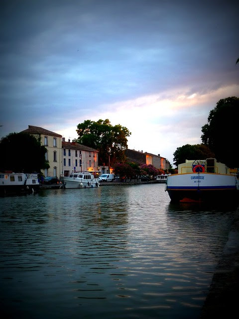Evening on the Canal du Midi