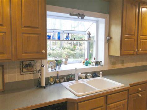 garden windows  kitchens upgrading  outlook