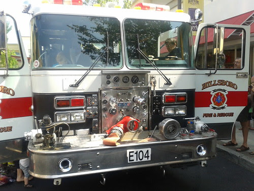 Hillsboro Fire Department Truck by born1945